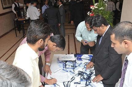 Registration of Delegates